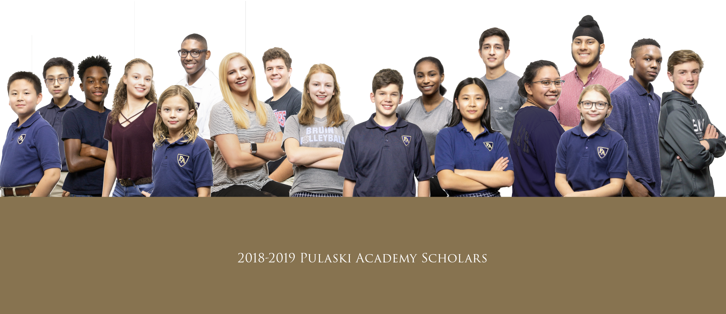 2018-2019 Pulaski Academy Scholars